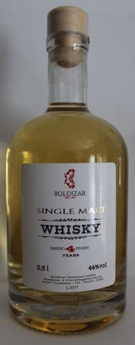 Boldizar Whisky Single Malt - 0,5 l - 44 % vol