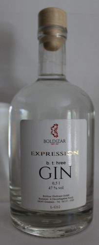 Boldizar Gin Expression - 0,5 l - 47 % vol
